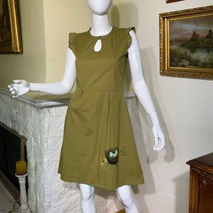 Smoking Lily Cotton Dress